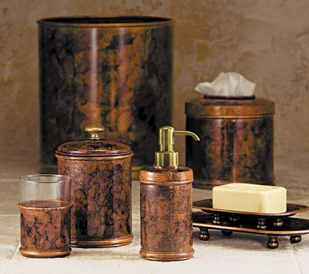 copper bath accessories copper