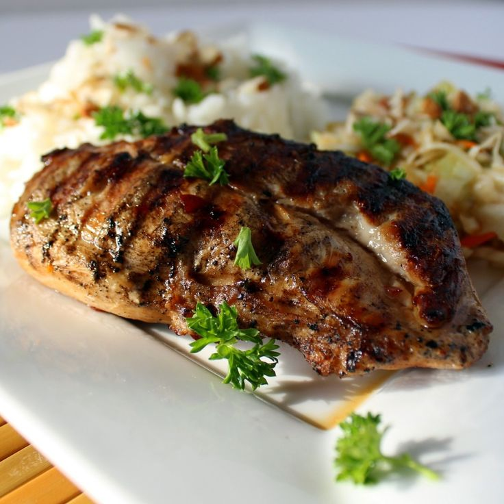 Asian Grilled Chicken | Main Dish | Pinterest