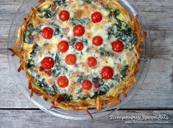 Kale And Onion Pie Recipe — Dishmaps