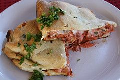 BBQ Chicken Calzones Recipe | Food | Pinterest