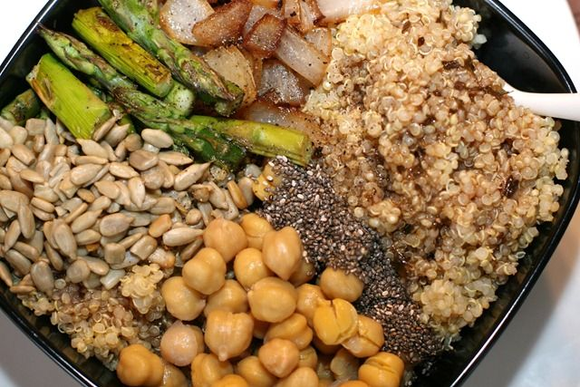 Protein Power Bowl Recipe | it's time to eat | Pinterest
