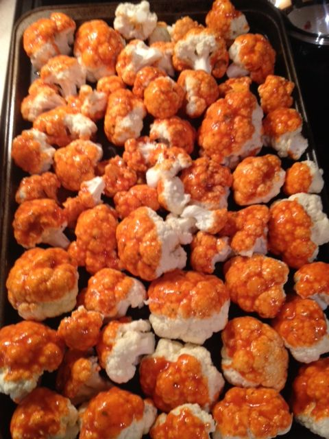 Buffalo Roasted Cauliflower is AWESOME! | Plant-Based recipes | Pinte ...