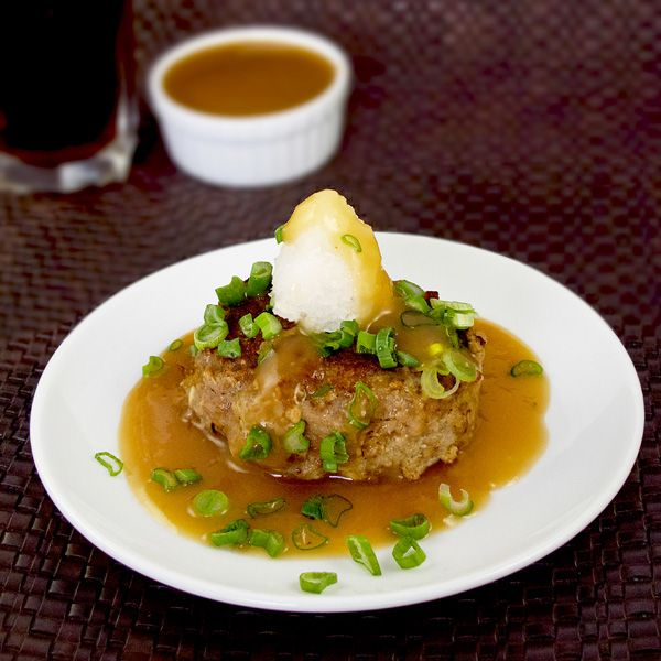 Hamburg Steak (Hambagu) Recipe — Dishmaps