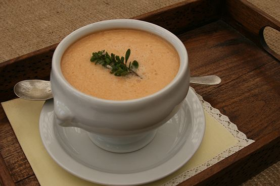Cantaloupe And Yogurt Soup With Ginger, Lime And Mint Recipe ...