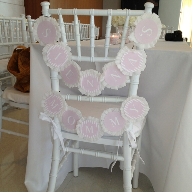 baby shower mommy to be 39 s chair baby shower pinterest