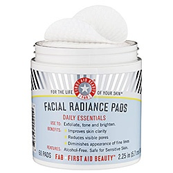 First aid beauty facial radiance pads review