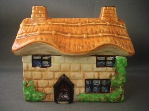 Beswick Ware 244 Cottage Ware Preserve Pot Lidded Sugar/Preserve/Jampot