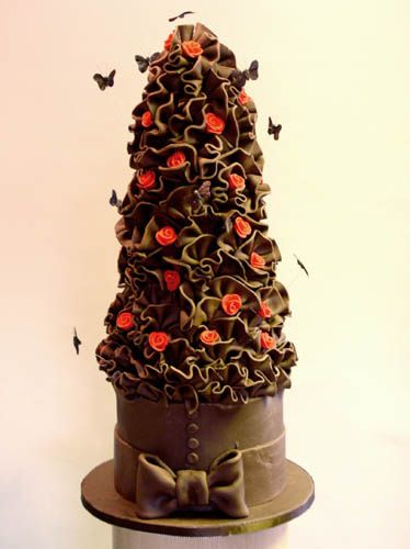 Chocolate Cake | Artistic - Chocolate Cakes | Pinterest