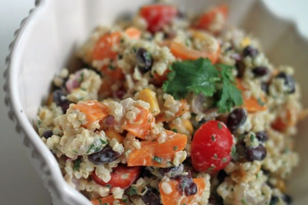 Cilantro lime quinoa salad | Healthy Recipes | Pinterest