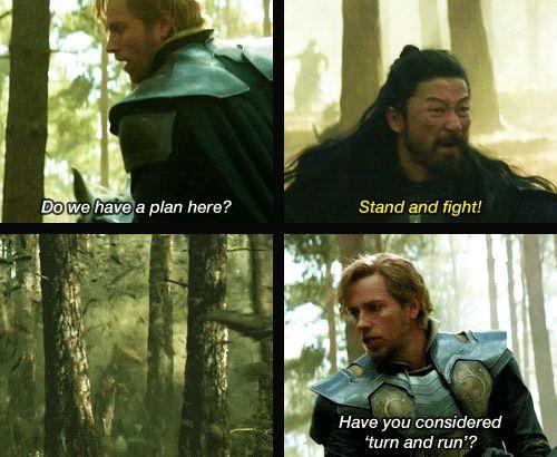 Thor: The Dark World, Fandral | Zachary Levi | Pinterest