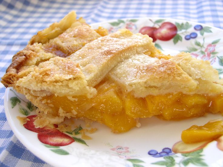 Peach Pie | Pies | Pinterest