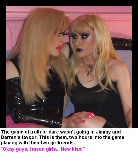 Truth or Dare TG Caption by ~hahaprincess on  | Being Such A Sissy