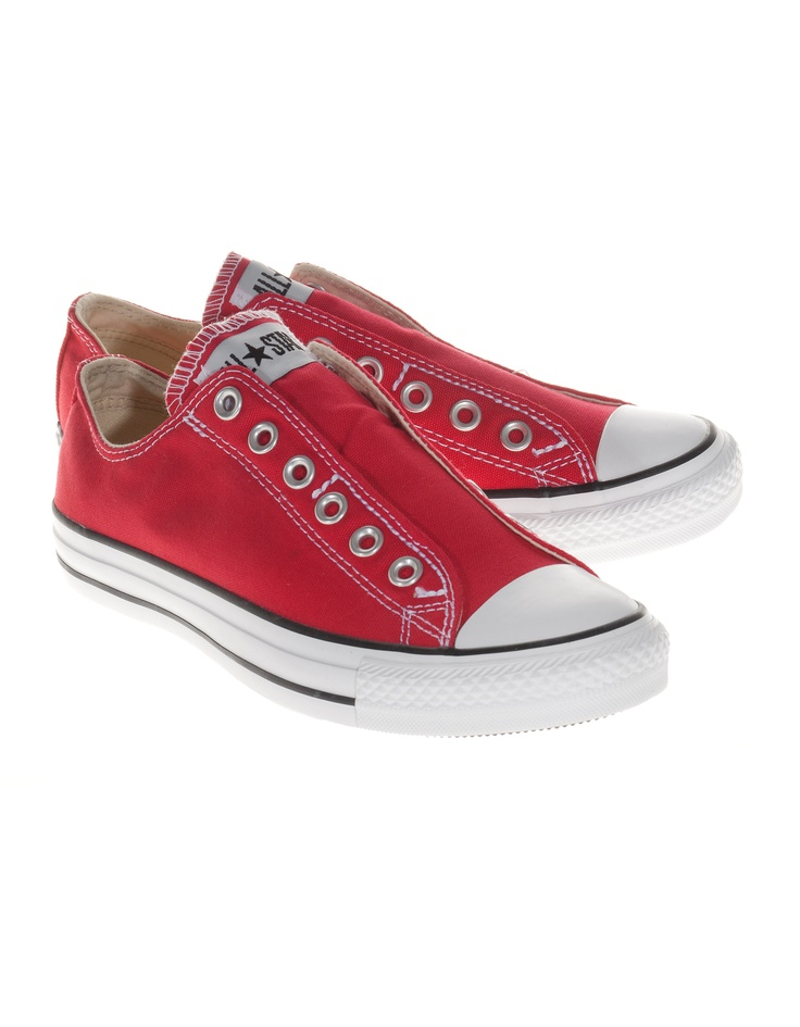 converse sneakers loose red slip on chucks shoes. Black Bedroom Furniture Sets. Home Design Ideas