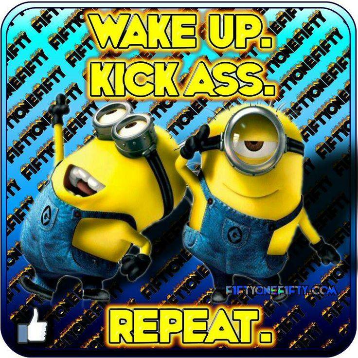 Minion Quotes Good Morning. QuotesGram