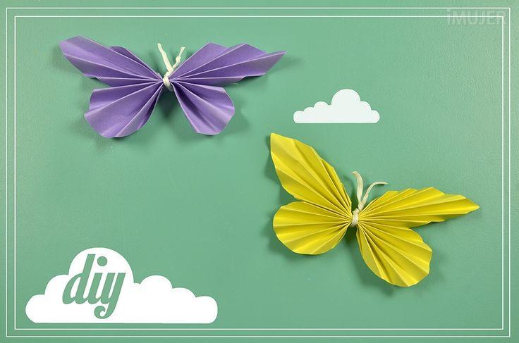Mariposas de papel para decorar let 39 s do it yourself pinterest - Mariposas para decorar ...