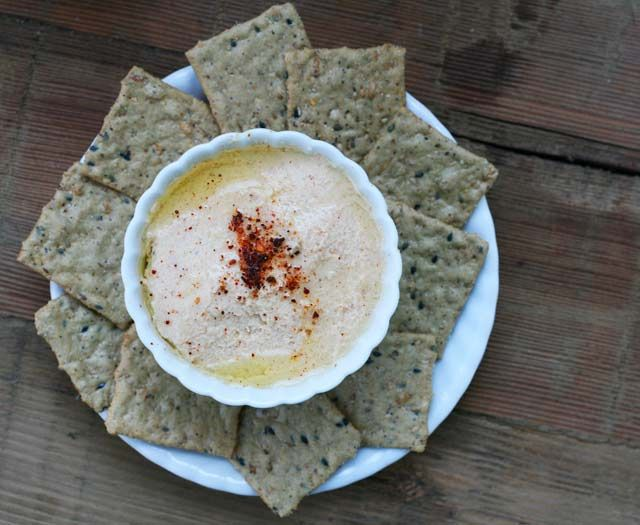 Roasted Cauliflower and Greek Yogurt Dip | Snack, Nibble, Nosh, Nom N ...