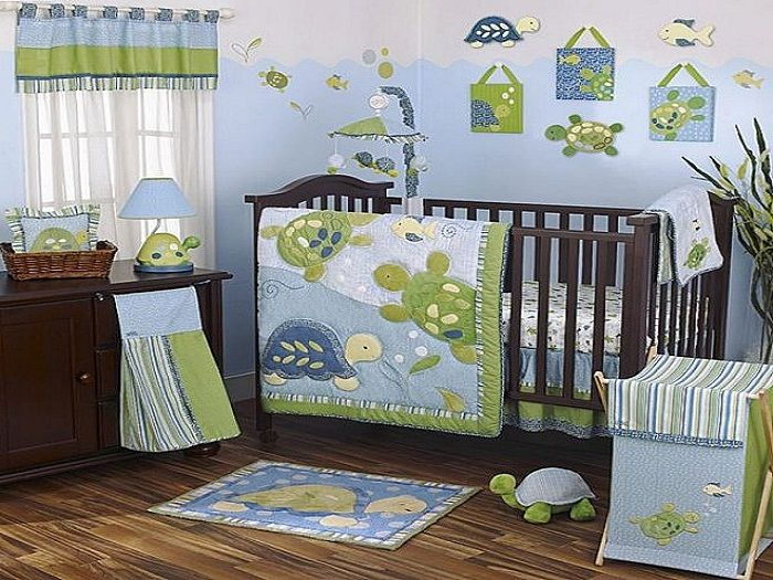 turtle baby bedding set for boys baby boy