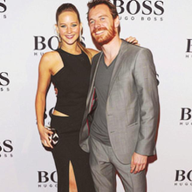 Jennifer Lawrence & Michael Fassbender   Beautiful People   Pinterest Michael Fassbender