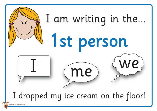 What does writing an essay in third person mean