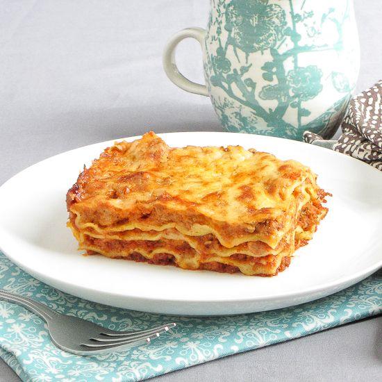 Lasagna Bolognese with Béchamel