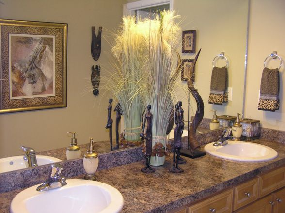 africa themed bathroom african decor pinterest
