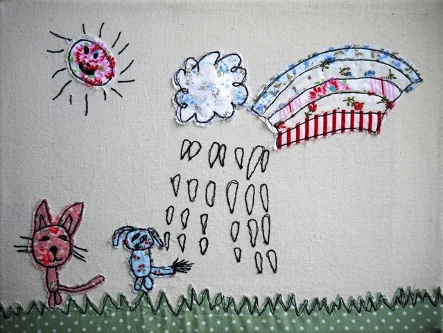 Turn your children's drawings into textile art:  http://www.ditsydoodles.co.uk/