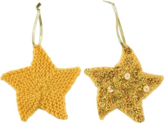 Free Christmas star knitting patterns Craft Ideas ...