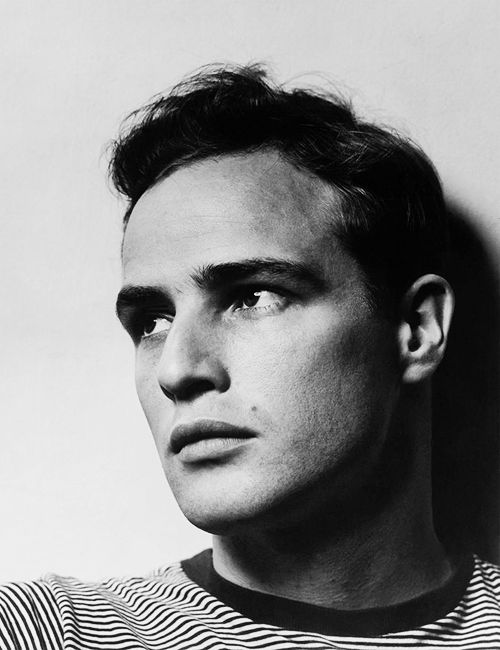 Stunning. Marlon Brando (1924-2004) American screen & stage actor. Brando was one of only three professional actors, along with Charlie Chaplin & Marilyn Monroe, named by Time magazine as one of its 100 Persons of the Century in 1999. He was ranked by the American Film Institute as the fourth greatest screen legend among male movie stars, and has become a cultural icon.