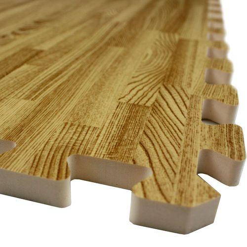 Soft Wood Foam Tile Interlocking Eva Floor Puzzle Mat EBay