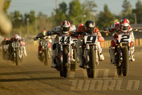 Kenny Coolbeth Jr. race action shot