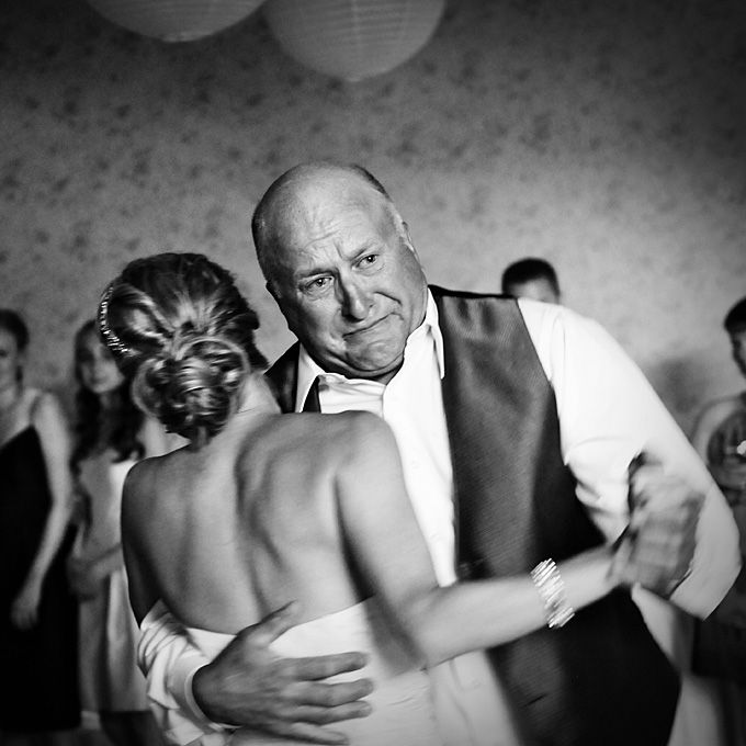 """The bride Tammy's father is a retired fireman and not the type you'd think would be overly emotional..."" Jody Sie of Better Together Photography."