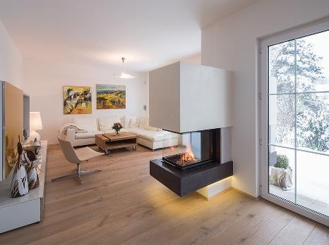 Wohnzimmer Mit Kamin Modern