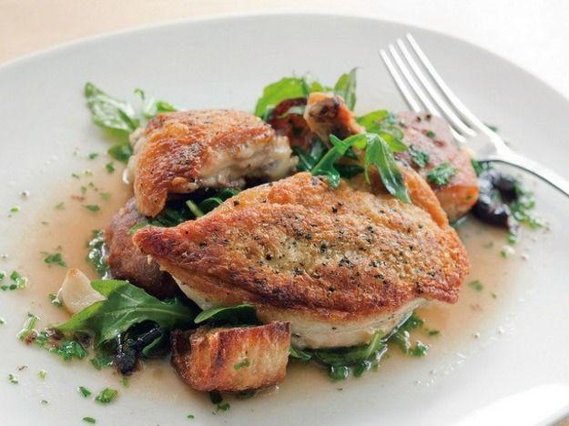 Seared Panzanella Chicken from 'Portland, Oregon Chef's Table