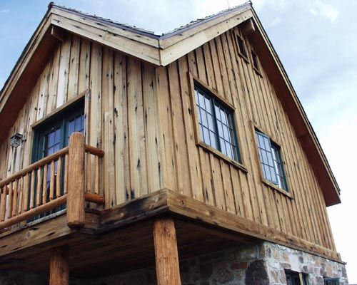 Batten and board siding for Rustic board and batten homes