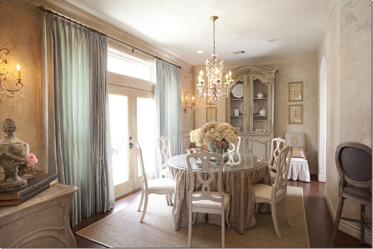 beautiful french dining room
