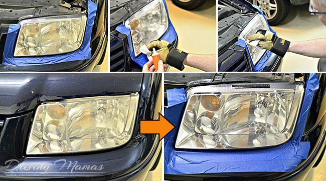 quixx headlight restoration kit instructions