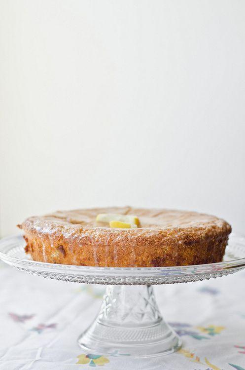 lemon french yogurt cake: recipe here