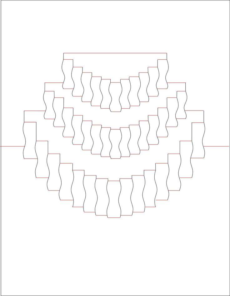Распечатать объемную открытку 43