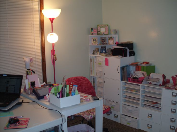 New craft room set up my craft room pinterest for Setting up a craft room