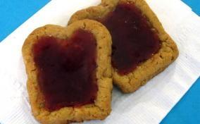 Peanut Butter & Jelly Sandwich Cookies | Butter Face | Pinterest