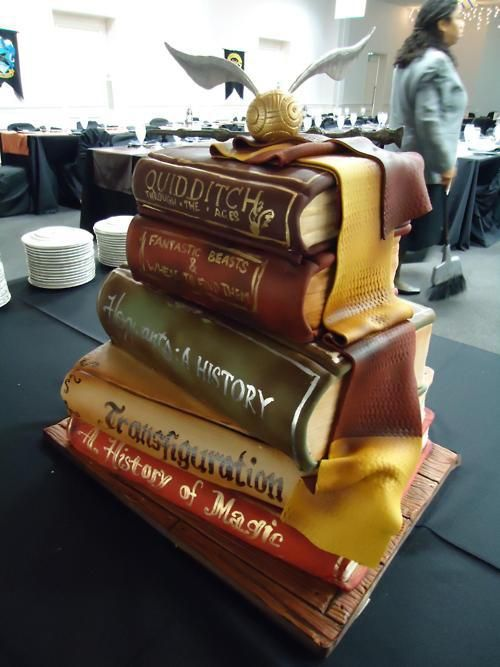 Cake Harry Potter Book : Pinterest: Discover and save creative ideas