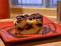 Challah Bread Pudding with Chocolate and Raisins | Recipe