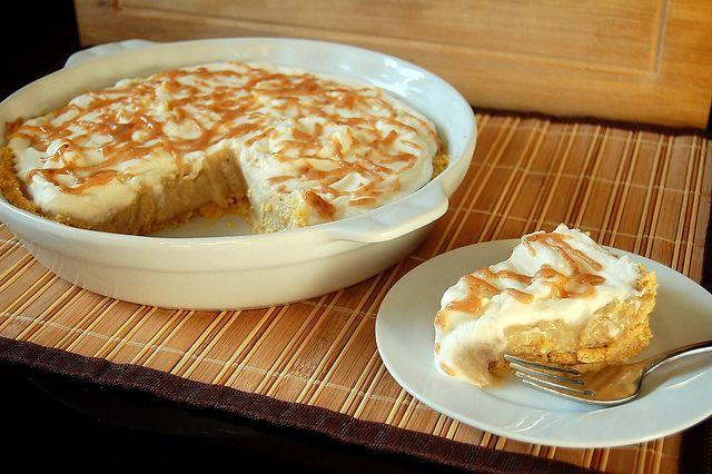 Bananas Foster Peanut Butter Pie | Recipes | Pinterest