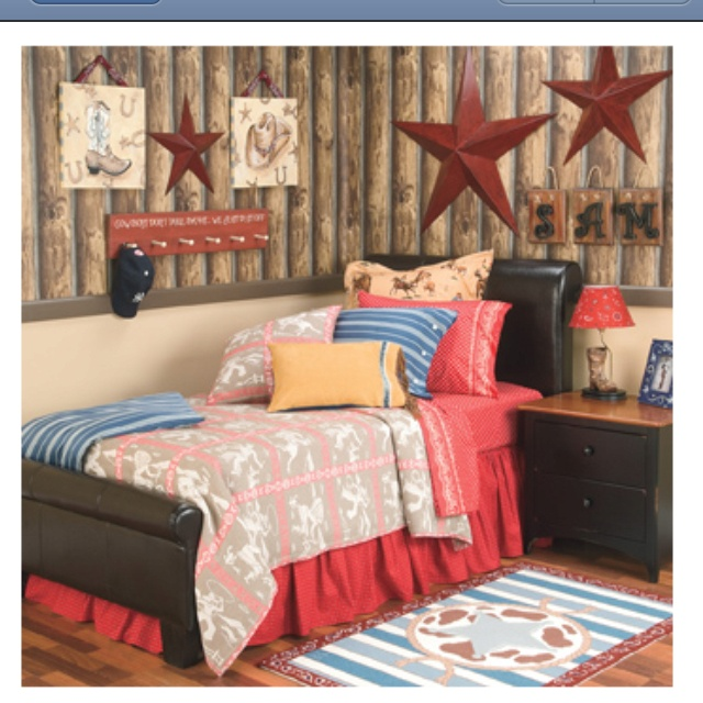 Cowboy Bedroom Or Just Use Metal Stars Children 39 S Bedroom Ideas P