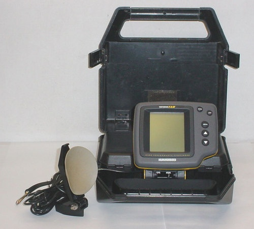 Humminbird wide 128 portable high performance fish finder for Humminbird portable fish finder