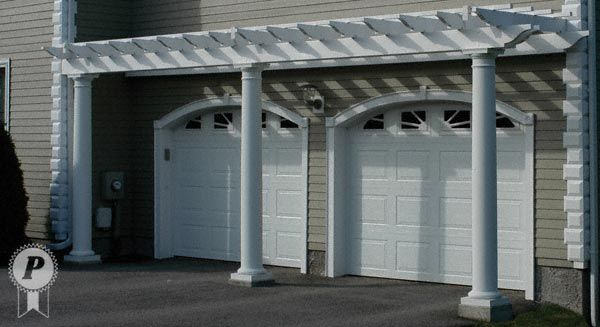 Arbor Above Garage Doors Ideas For The Home Pinterest