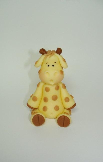 Edible Fondant Cake Topper - Giraffe Fondant/Gumpaste ...