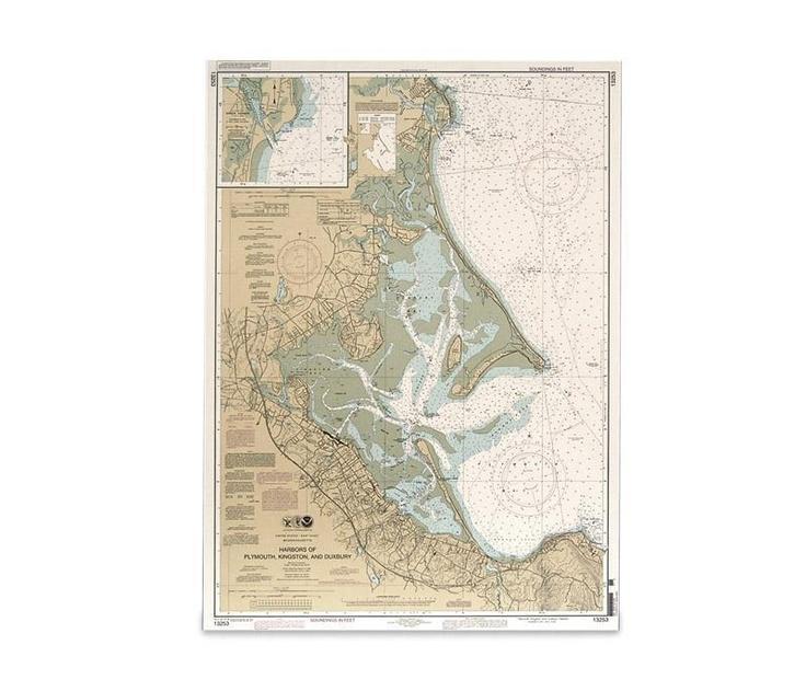 More living room ideas - NOAA Chart Plymouth, Kingston, and Duxbury Harbor -