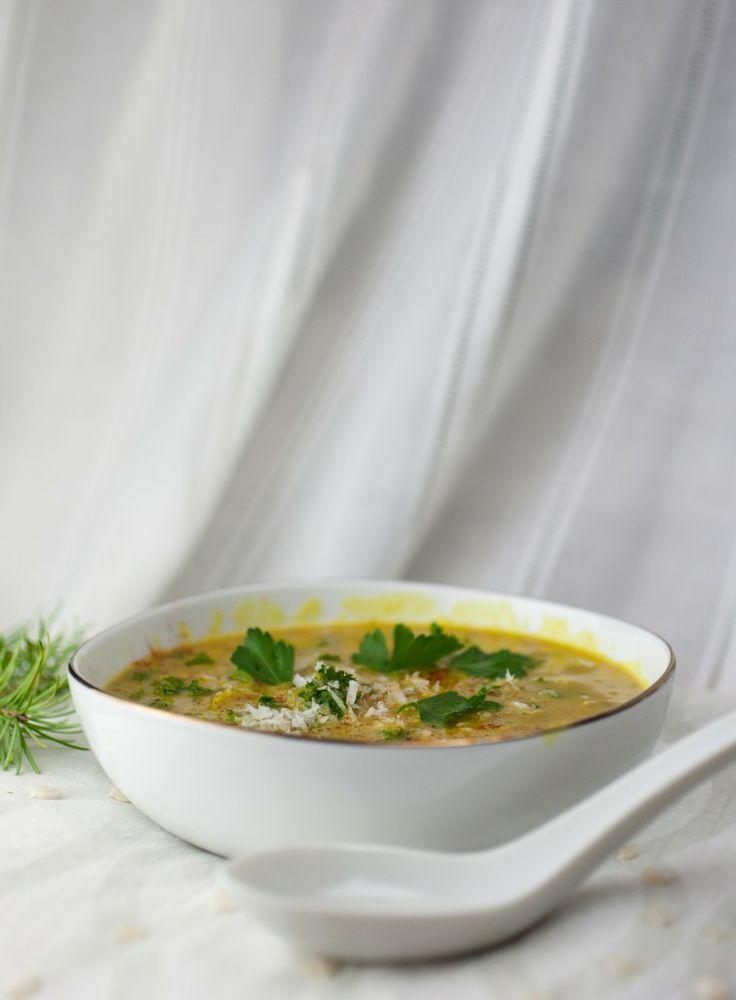 Creamy Spiced Coconut Lentil Soup
