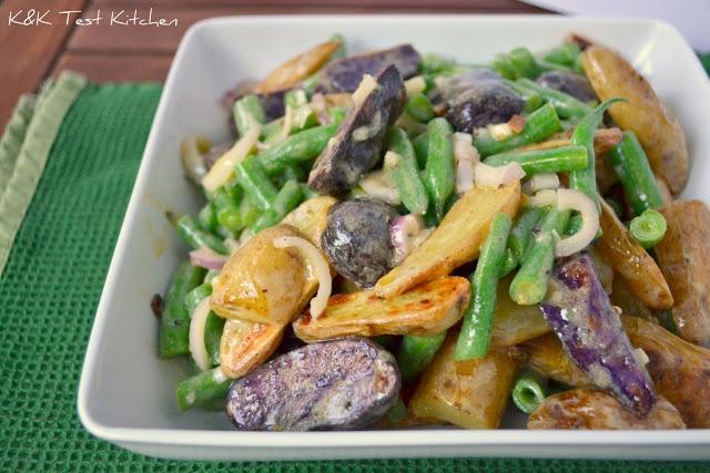 Test Kitchen: Warm Fingerling Potato and Green Bean Salad